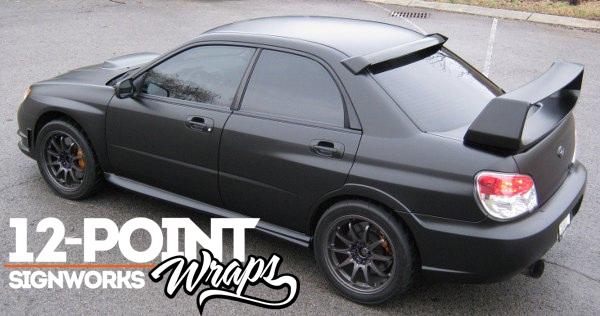 Matte Black Wraps - The Next Big Thing in Custom Vehicle Wraps! – 12