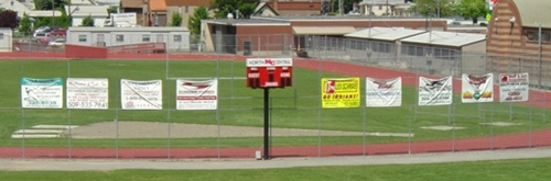 Ball field advertising banners. 12-Point SignWorks - Franklin TN