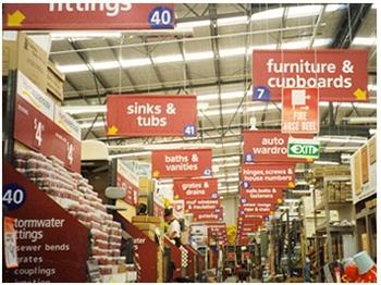 Indoor hanging banner signs. 12-Point SignWorks - Franklin TN