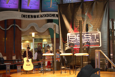 Custom stage banners. 12-Point SignWorks - Franklin TN