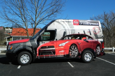 Vehicle Advertising Wraps