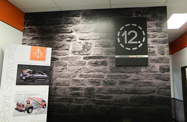 Some of our very own 12-Point SignWorks rebranding. 12-Point SignWorks - Franklin, TN