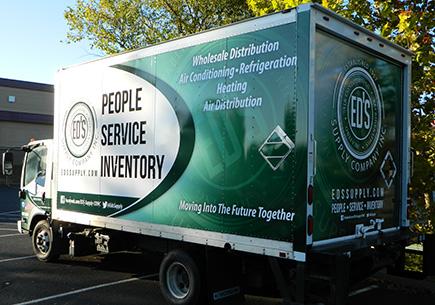 EDS Vehicle Graphic Wrap