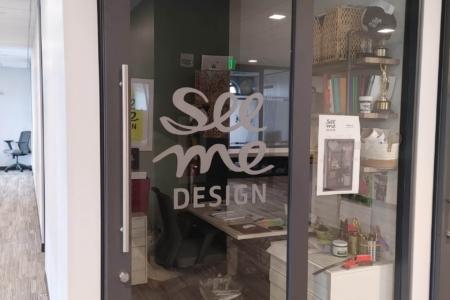 Custom Window Graphics for See Me Design