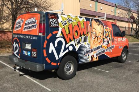 12-Point SignWorks' Custom Vehicle Wrap/Mobile Branding/ Franklin, TN