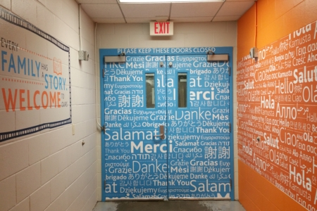 """Wall & Door Graphics for Loews Hotels & Results """"Heart of House""""/ Franklin, TN/ 12-Point SignWorks"""