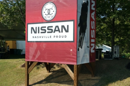 Event signage for Chukkers for Charity. 12-Point SignWorks - Franklin TN