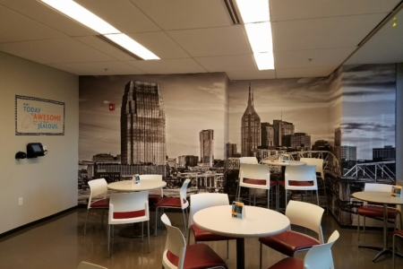 """Custom Mural and Wall Graphics for Loews Hotels & Resorts """"Heart of House""""/ 12-Point SignWorks"""