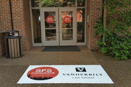 Temporary conference signage at Vanderbilt University in Nashville. 12-Point SignWorks - Franklin TN