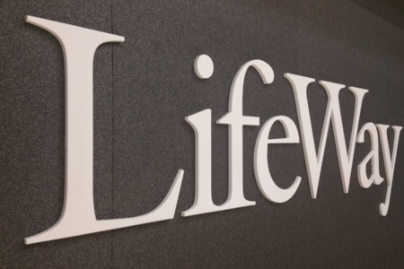 Dimensional Logo/ Acrylic Letters for LifeWay Christian Resources/ Downtown Nashville/ 12-Point SignWorks