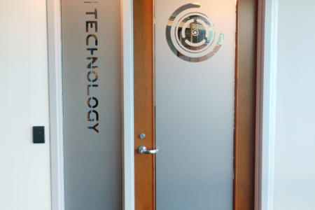 Privacy Vinyl for 3D Technology in Franklin, TN/ 12-Point SignWorks
