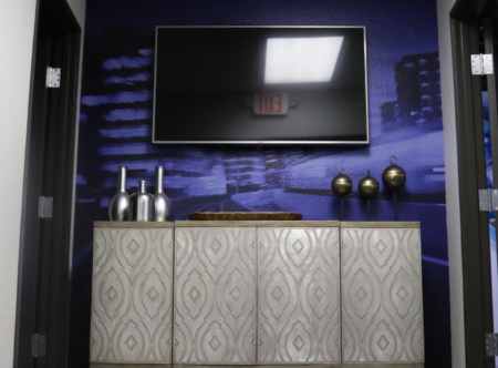 Custom vinyl wall mural for Accella Performance Materials. 12-Point SignWorks - Franklin TN