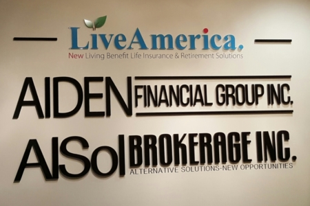 Dimensional Letters/ Directory Signage/ Wall Logo Graphics Fabricated & Installed by 12-Point SignWorks