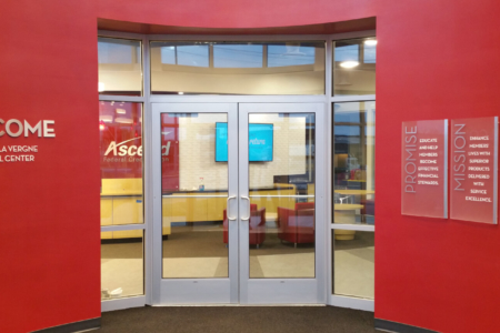 Branded Dimensional Letters and Acrylic Panels for Ascend Federal Credit Union/ 12-Point SignWorks/ Franklin, TN