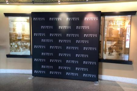 Backwall Display for Beautifully Broken Film Premiere. 12-Point SignWorks - Franklin, TN