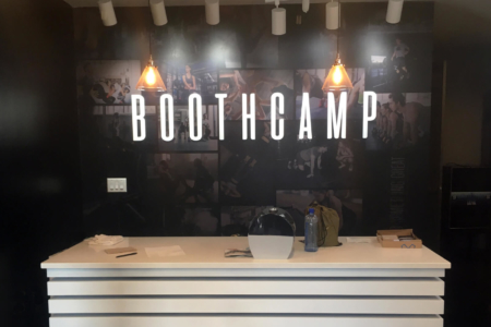 Custom Wall Graphics for Boothcamp in Nashville, TN/ 12-Point SignWorks/ Mural