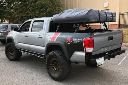Partial Truck Wrap for Centurion Defense Solutions/ 12-Point SIgnWorks/ Franklin TN