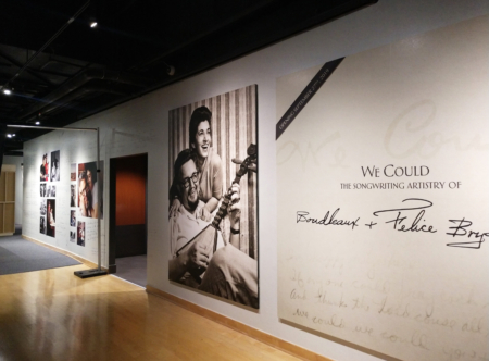 Custom wall murals for the Country Music Hall of Fame in Nashville, TN. 12-Point SignWorks - Franklin TN