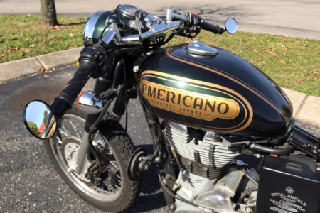 Motorcycle Decal for the Americano Lounge in Nashville