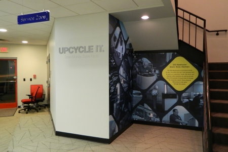 Experiential Branding Graphics Fabricated & Installed by 12-Point SignWorks/ Franklin, TN