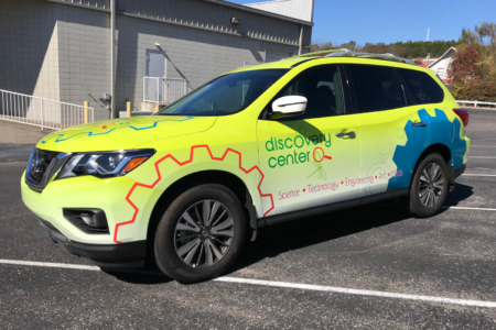 Vehicle Wrap/ Fleet Graphics for the Discovery Center