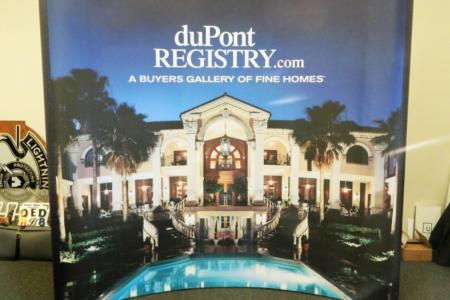 Tradeshow display for DuPont Registry. 12-Point SignWorks - Franklin, TN