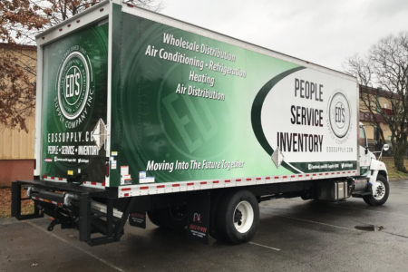 Box Truck Advertising Wrap for ED's Supply Company/ 12-Point SignWorks/ Franklin, TN