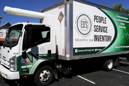 Full Coverage Box Truck Wrap for Ed's Supply Company, Inc