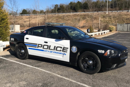 Vehicle Decals for the Franklin Police Department / 12-Point SignWorks