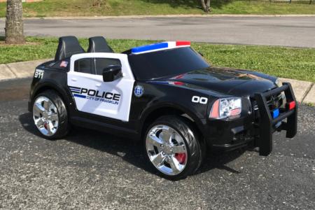 Custom Wrap for Kid Friendly Motor Car/ Franklin Police