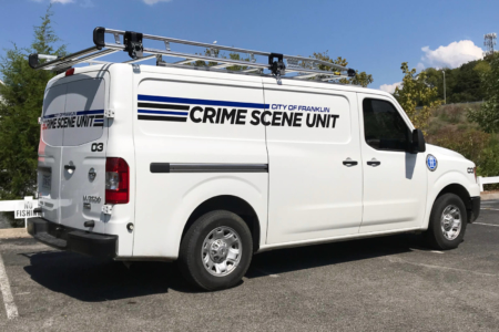 Van Decals Fabricated & Installed by 12-Point SignWorks