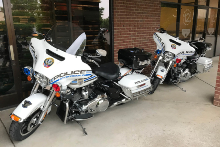 Motorcycle Decals for Franklin Police Department/ 12-Point SignWorks