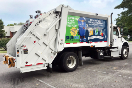 Branding Graphics for The City of Franklin's Sanitation and Environmental Services Department