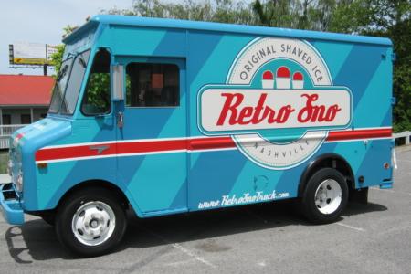 Full Coverage Food Truck Wrap for Retro Sno/ Custom Design/ 12-Point SignWorks