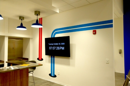 21140 Experiential Branding Project with Gresham Smith - Wall Graphics/ 12-Point SignWorks Franklin