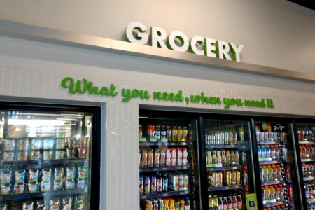 21068- Dimensional Letters/ Lobby Graphics for MAPCO Express/ Nashville TN/12-Point SignWorks