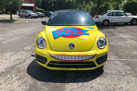 Custom Vehicle Wrap for Dr. Buzz Pediatric Dental Care in Franklin, TN : 12-Point SignWorks