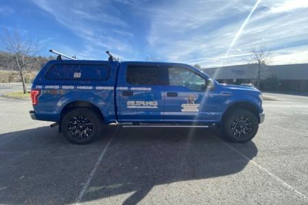 Vehicle Spot Graphics for Halker's Wildlife Control Services - Nashville