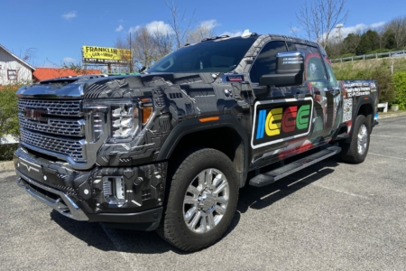 21778- Truck wrap for ICCC in Nashville, TN/ 12-Point SignWorks