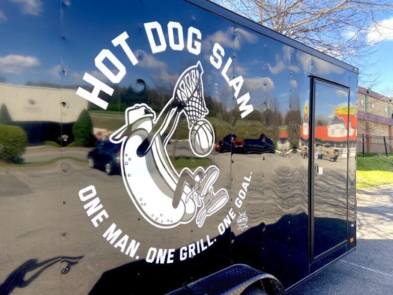 Custom Trailer Graphic for Hot Dog Slam/ 12-Point SignWorks
