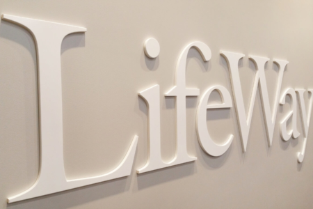 Dimensional Logo Letters for LifeWay Christian Resources/ Downtown Nashville/ 12-Point SignWorks
