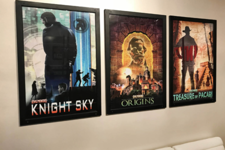 Custom Posters for Liveminds Adventure Escape!/ Franklin, TN/ 12-Point SignWorks