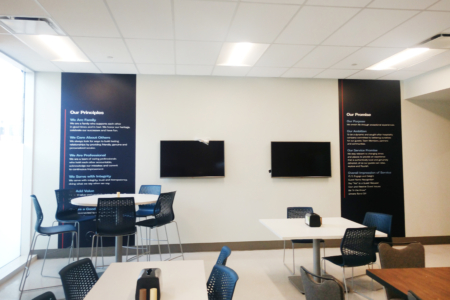 Custom Wall Graphics for Live! by Loews in Arlington, TX / 12-Point SignWorks