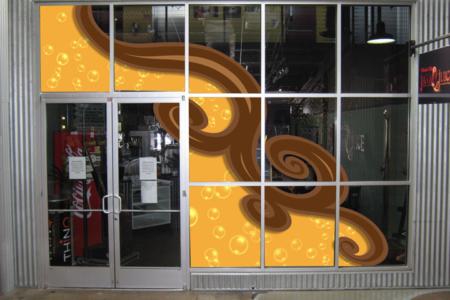 Custom window graphics. 12-Point SignWorks - Franklin TN