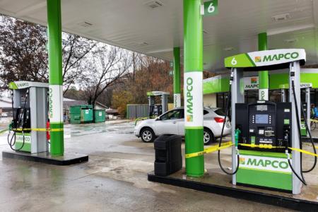 Custom Branding Graphics for MAPCO Express, Inc. in TN, AL, & GA. / 12-Point SignWorks