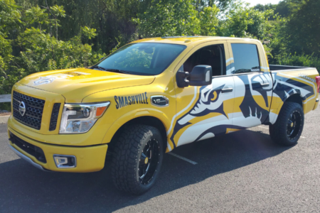 Fleet Truck Wrap for Nashville Predators/ 12-Point SignWorks