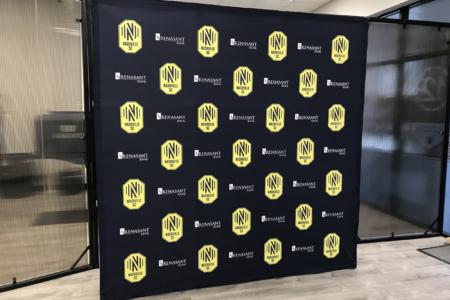 Pop Up Display for the Nashville Soccer Club