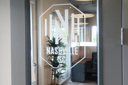 Privacy Vinyl for Nashville Soccer Club/ 12-Point SignWorks