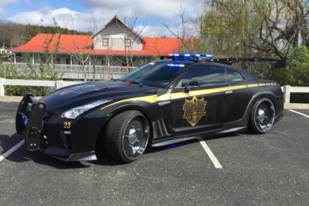 Custom Vehicle Wrap for Skyline Metro Police Department