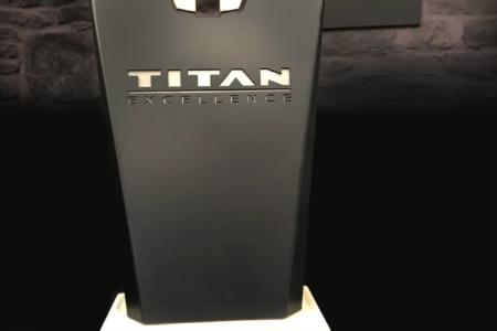 Custom Designed Trophy for Nissan by 12-Point Signworks